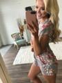 Makes Me Wonder Floral Shorts Romper Mocha