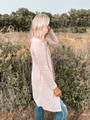A Beautiful Kiss Button Front Pocket Cardigan Beige