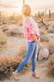 Watch Me Shine Off Shoulder Tie Dye Top Pink