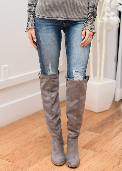 Friday Night Lights Slightly Distressed Denim Jeans CLEARANCE