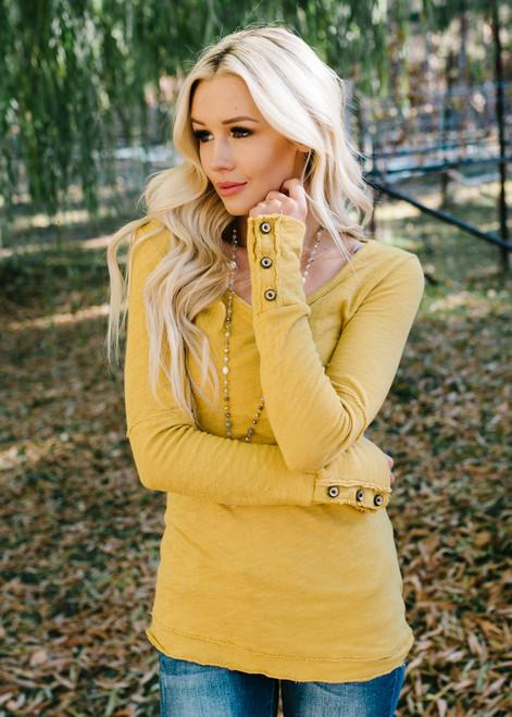 Declare My Love Top Mustard