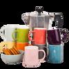 Espresso Cup - Coral (Pair)