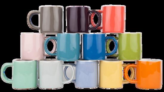 Espresso Cup - Green (Pair)