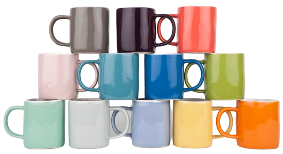 Espresso Cup - Orange (Pair)