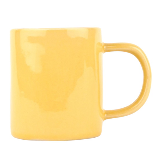 Espresso Cup - Yellow (Pair)