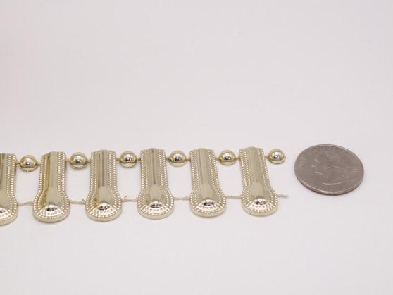 Gold Doorway Trim - Per Yard