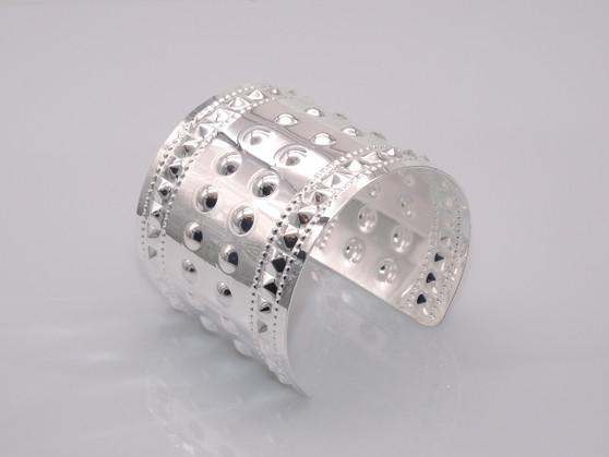 Silver Rugged Cuff