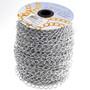 8x11mm Aluminum Chain Silver - Per Yard