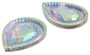 10 Pieces - 20x30 mm Teardrop Stone - Clear AB