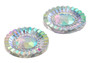 10 Pieces - 20mm Round Stone - Clear AB2