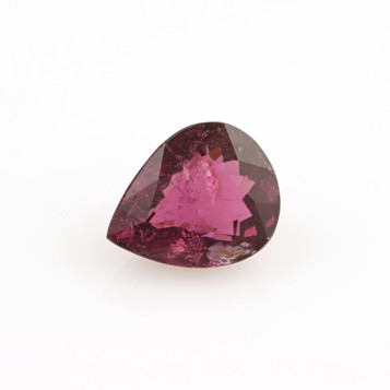 2.75ct Loose Tourmaline Gemstone Pear Pinkish Purple Magenta 10.05mm x 8.03mm