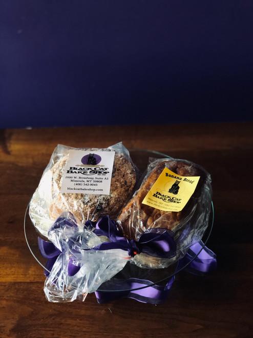 Huckleberry Coffee Cake & Banana Bread Combo Box