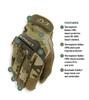 M-PACT Multicam OCP Gloves by Mechanix Wear
