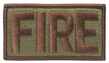 Multicam OCP Fire Patch with Hook Backing