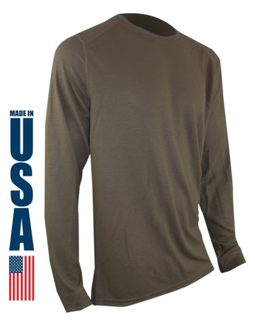 Tan 499 FR Phase 2 Longsleeve Crew by XGO