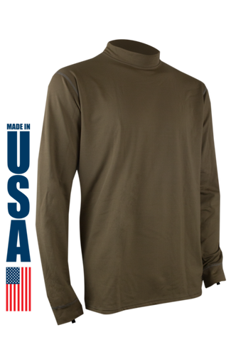 Tan 499 Phase 4 Performance Men's Longsleeve Crew by XGO