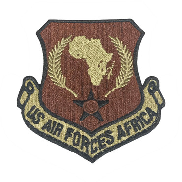 Multicam OCP Africa Patch With Black Border With Hook Backing
