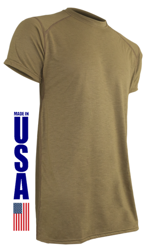 Tan 499 FR Phase 1 Short Sleeve T-Shirt by XGO
