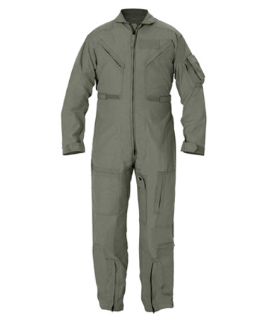 Custom Sized Sage Green Nomex Flight Suit