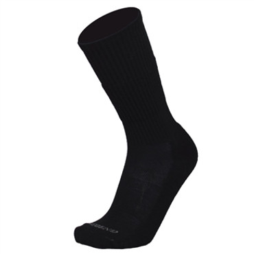 Black All Weather Compression Merino Wool Tactical Boot Socks by Legend