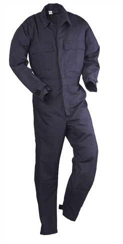 Navy Blue US Made Nyco Ripstop Utility Coverall