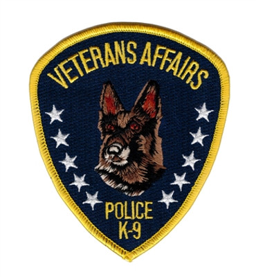 VA Police K9 Shoulder Patch