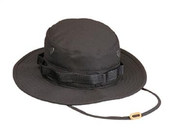 Black Boonie Cap