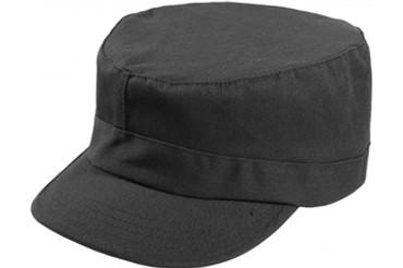 Black Patrol Cap (US Made)