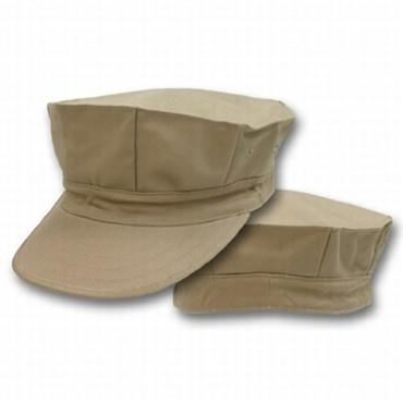 Khaki 8 Point Cap (US Made)