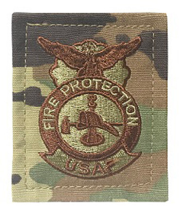 Multicam OCP Fire Protection Patch - Firefighter With Hook Backing