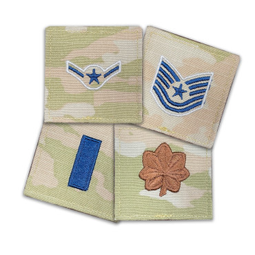 Multicam Rank With Hook Backing For U.S. Space Force