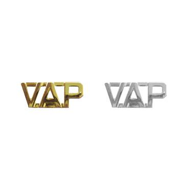 VAP Collar Pins without Periods