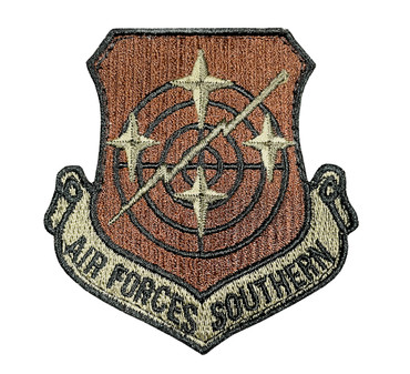 Multicam OCP Air Forces Southern Patch (Black Border & Hook Backing)