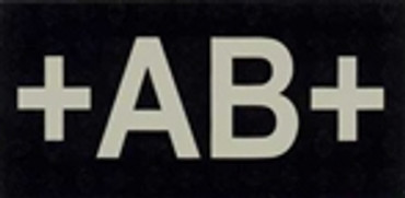 IR Blood Type Patch - AB - Positive