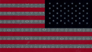 IR American Flag Patch - Full Color (Red White Blue - Right Side)