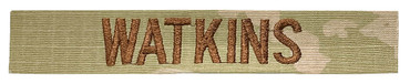 Name Tape (Last Names) - Multicam OCP Sew On