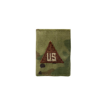 Multicam OCP US Civilian Gortex Rank With Spice Brown Triangle