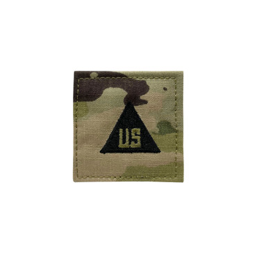 Multicam OCP US Civilian Patch (2x2) With Black Triangle