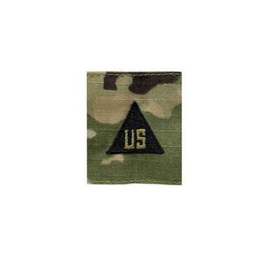 Multicam OCP US Civilian Gortex Rank With Black Triangle