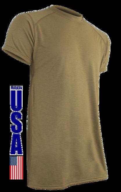 Tan 499 FR Phase 1 Short Sleeve T-Shirt by XGO