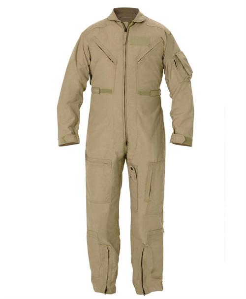 Tan Nomex Flight Suit (US Made)