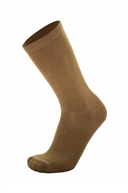 Coyote Warm Weather Compression Moisture Wicking Nylon Tactical Boot Socks by Legend
