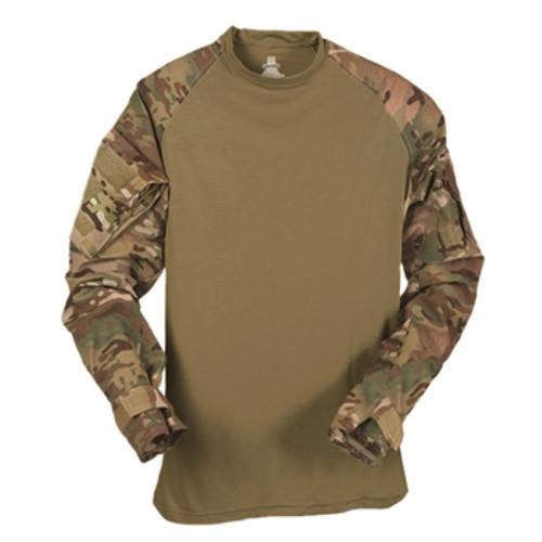 Multicam OCP US Made Flame Resistant Combat Shirt Long Sleeve Crew