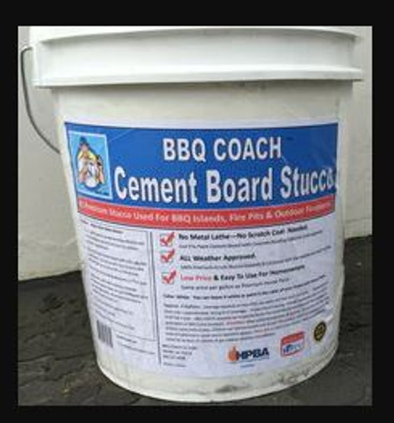BBQ Coach Stucco 5 Gallons (In Stock)