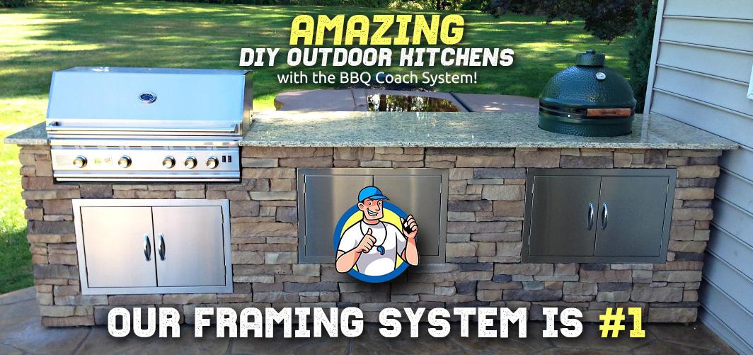 Professional DIY Outdoor Kitchen | BBQ Island - BBQ Coach