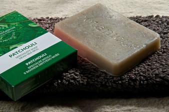 Patchouli Dead Sea Mud Face Soap 2.4oz (Pre-order)