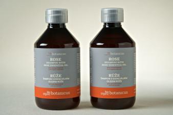 Organic Shampoo with Rose Essential Oil  8.4 oz (Pre-order)
