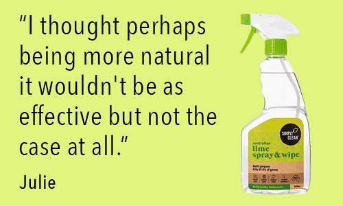 lime toxin free spray & wipe