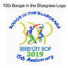 Boogie in the Bluegrass 15th Anniversary logo