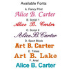Available Fonts